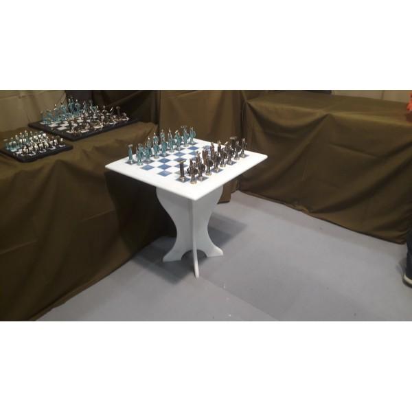 Μαρμάρινο τραπεζάκι - Σκακιέρα